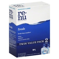 Re Nu Multi-Purpose Solution, Advanced Formula, Twin Pack