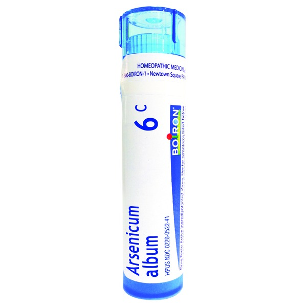 Boiron Arsenicum Album 6C Homeopathic Pellets