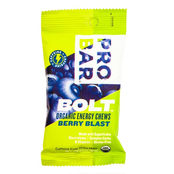 Probar Bolt Organic Berry Blast Organic Energy Chews
