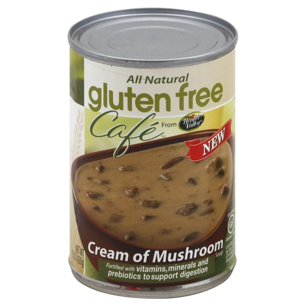 Health Valley Gluten Free Cafe Soup, Cream of Mushroom