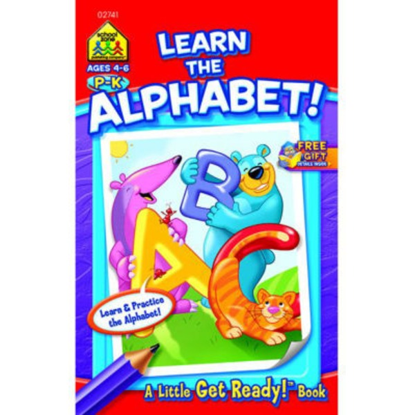 School Zone Busy Book Learn The Alphabet