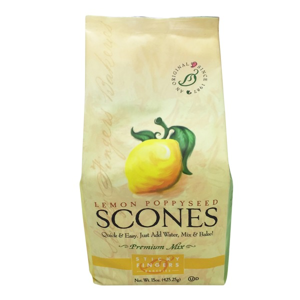 Sticky Fingers Bakeries Lemon Poppyseed Scone Mix