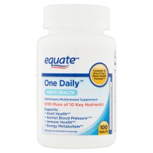 Equate one daily mens 100 ct