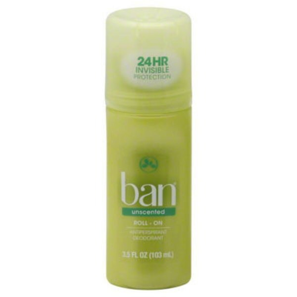 Ban Unscented Antiperspirant/Deodorant