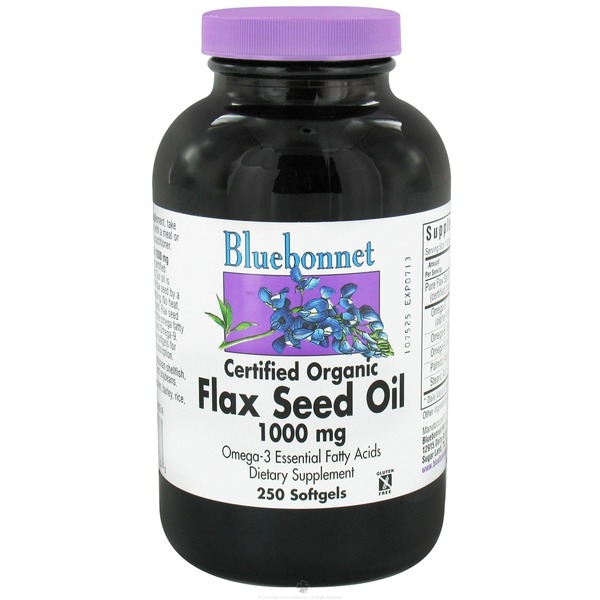 Bluebonnet Flax Seed Oil 1000 Mg