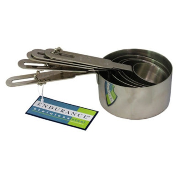 RSVP Endurance Stainless Steel Measuring Cup Set