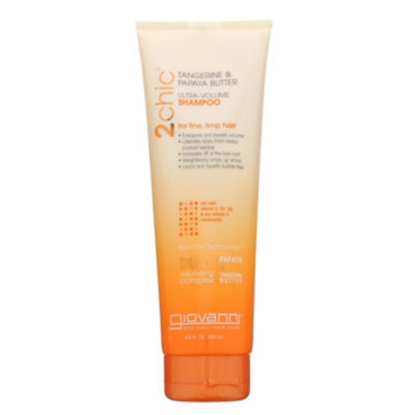 Giovanni 2Chic Ultra-Volume Shampoo Tangerine & Papaya Butter