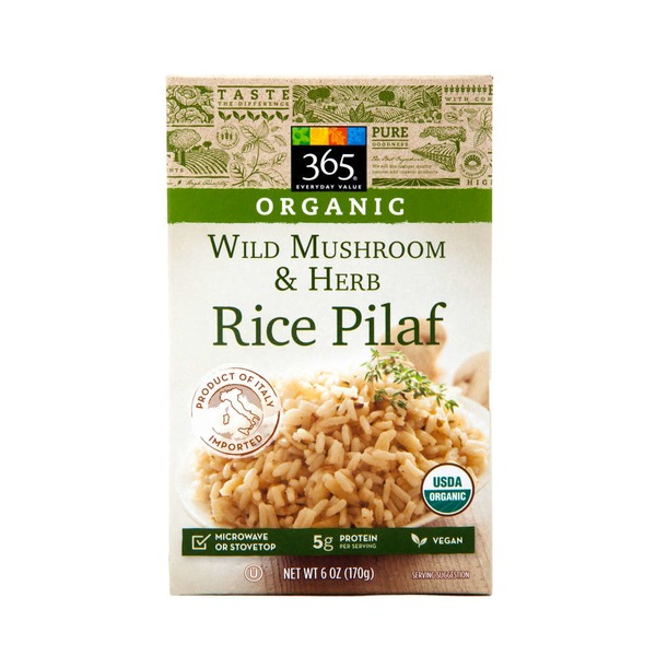 365 Organic Wild Mushroom And Herb Rice Pilaf