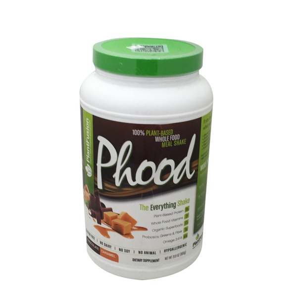 PlantFusion Phood - Chocolate Caramel Whole Food Meal Shake