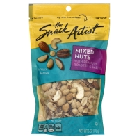 The Snack Artist Nuts Mixed With Peanuts