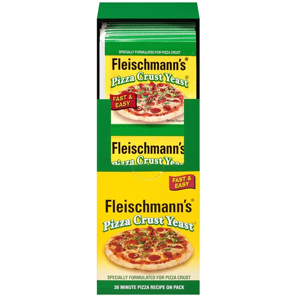 Fleischmann's Yeast Pizza Crust Vertical Yeast