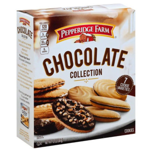 Pepperidge Farm Cookies Chocolate Collection Cookies