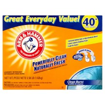 Arm & Hammer Powerfully Clean Naturally Fresh Clean Burst Laundry Detergent, 40 loads, 3.58 lb