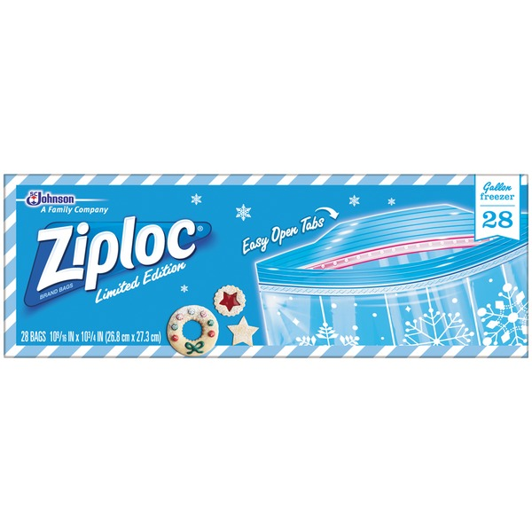 Ziploc Gallon Freezer Storage Bags