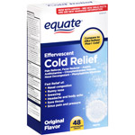 Equate Cold Relief Original Flavor Effervescent Tablets