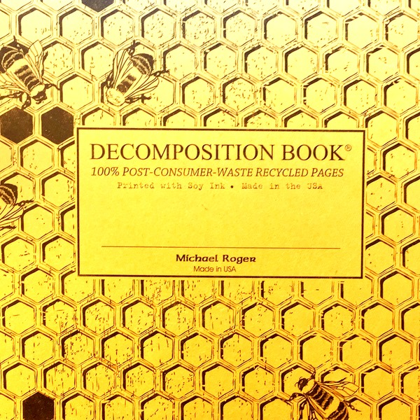 Decomposition Book Honeycomb Notebook