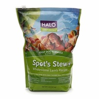 Halo Purely for Pets Adult Dog Foruma Spot's Stew Wholesome Lamb Recipe Dog Food
