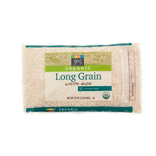365 Organic Long Grain White Rice