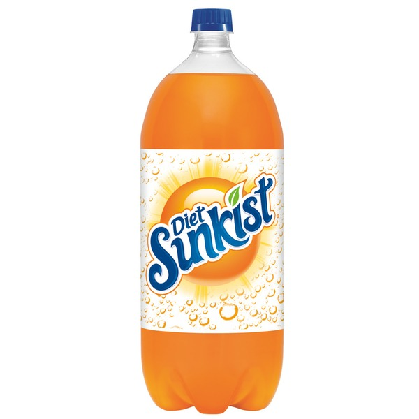 Sunkist Orange Diet Soda