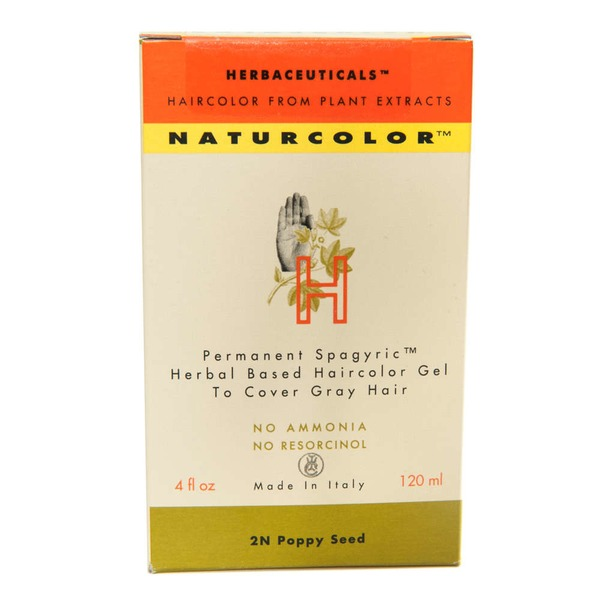 Naturcolor Permanent Hair Color 2N Poppy Seed