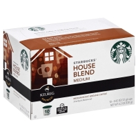 Starbucks Coffee K-Cup Medium Roast House Blend