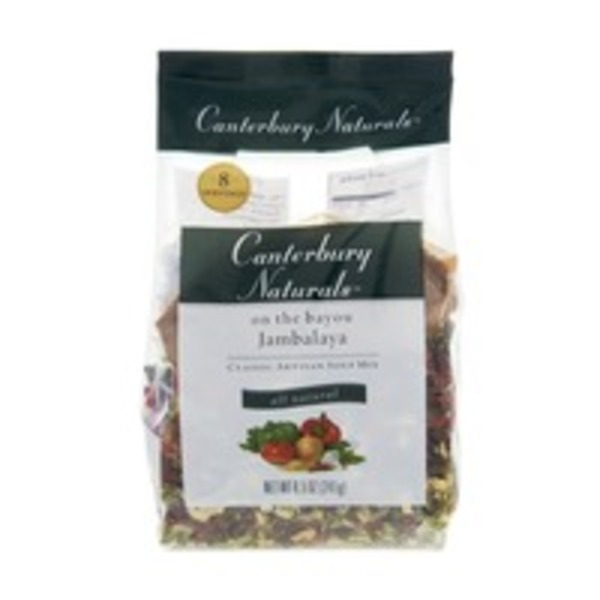 Canterbury Naturals on the Bayou Jambalaya All Natural Classic Artisan Soup Mix