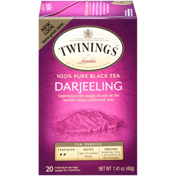Twinings Darjeeling, 100% Pure Black Tea