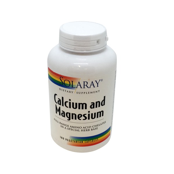 Solaray Calcium And Magnesium Vegetarian Capsules