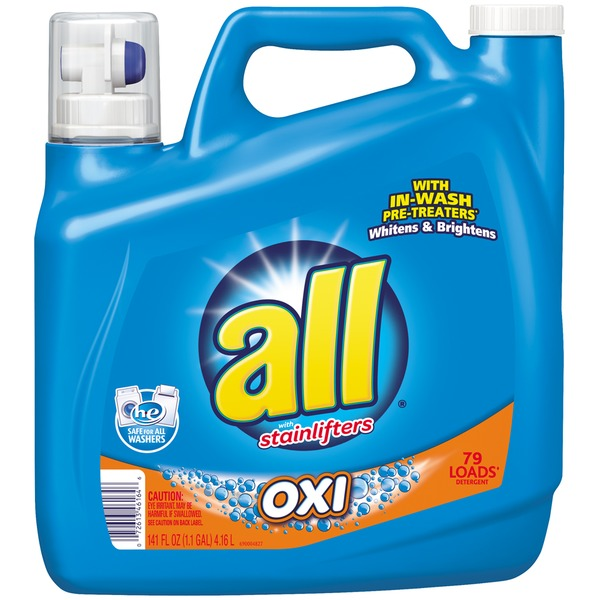 All With Stainlifters Oxi 79 Loads Laundry Detergent