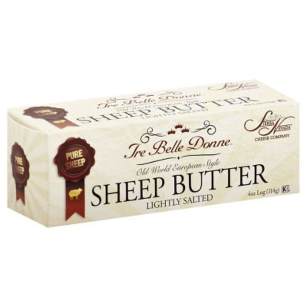 Tre Belle Donne Butter, Sheep, Lightly Salted