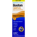 Bausch & Lomb Boston Multi-Action Solution With Daily Protein Remover Simplus 3.5 fl oz