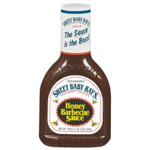 Sweet Baby Ray's Honey Barbecue Sauce, 18 oz