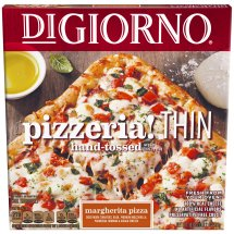 DIGIORNO PIZZERIA! Thin Crust Margherita Pizza 18 oz. Box