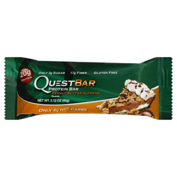 QuestBar Peanut Butter Supreme Protein Bar