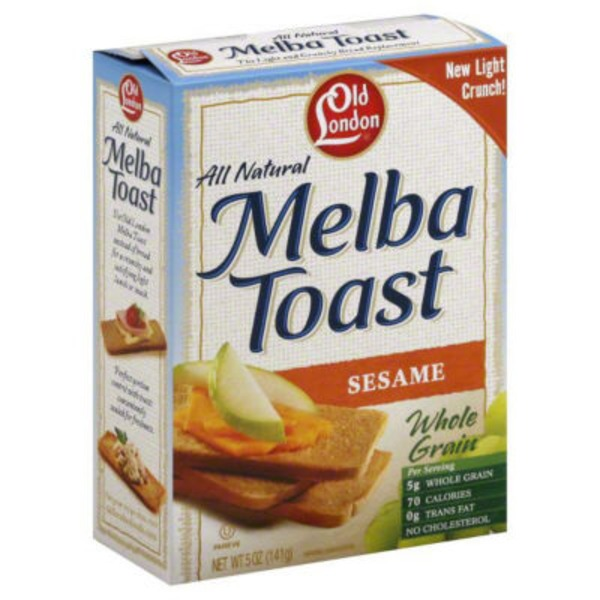 Old London Sesame Melba Toast