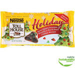 Nestle Toll House Holiday Semi-Sweet Chocolate Morsels with Red & Green Colored Morsels