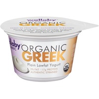 Wallaby Organic Greek Lowfat Plain Yogurt