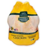 Sanderson Farms Fresh Whole Young Chicken 5.25- 5.75 lbs.