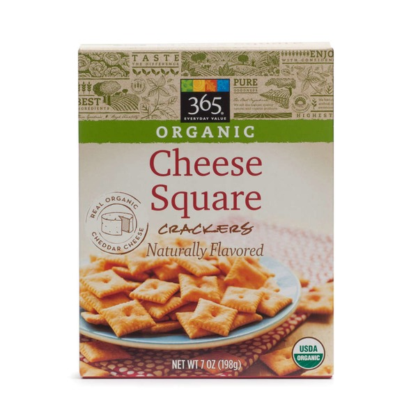 365 Cheese Square Crackers