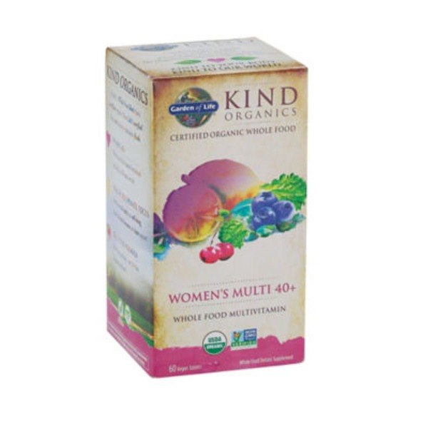 Garden of Life Kind Organic Womens 40+ Multivitamin