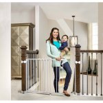 Regalo Top of Stairs Baby Gate, 26'-42' for Banisters or Walls