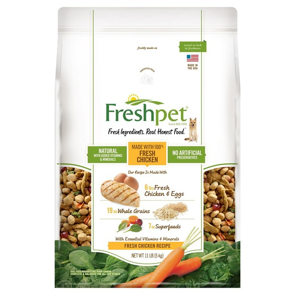 Freshpet Fresh Chicken Dog Food Recipe