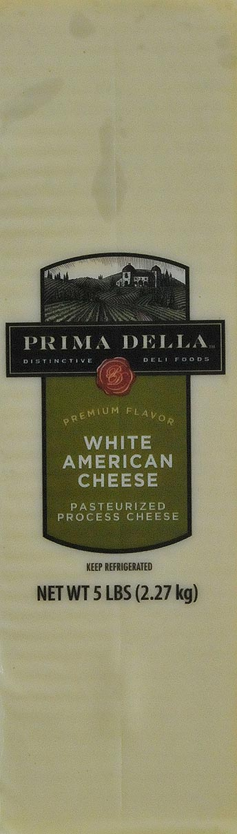 Prima Della White American Cheese Deli Sliced