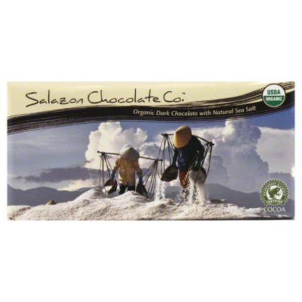 Salazon Chocolate Co. Organic Dark Chocolate Sea Salt