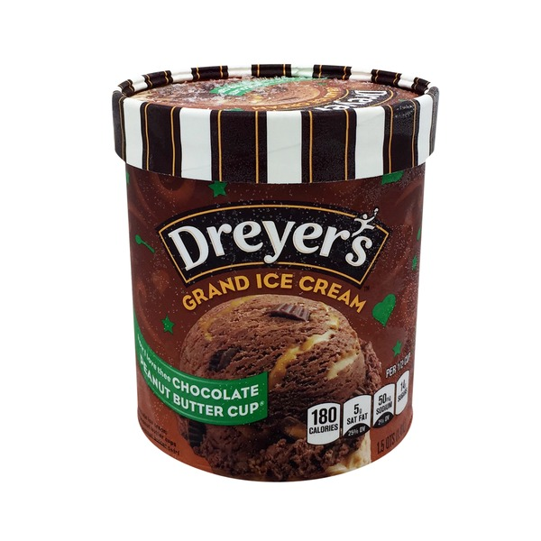 Dreyer's Chocolate Peanut Butter Cup Loaded Ice Cream