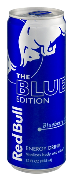 Red bull blue 12 oz