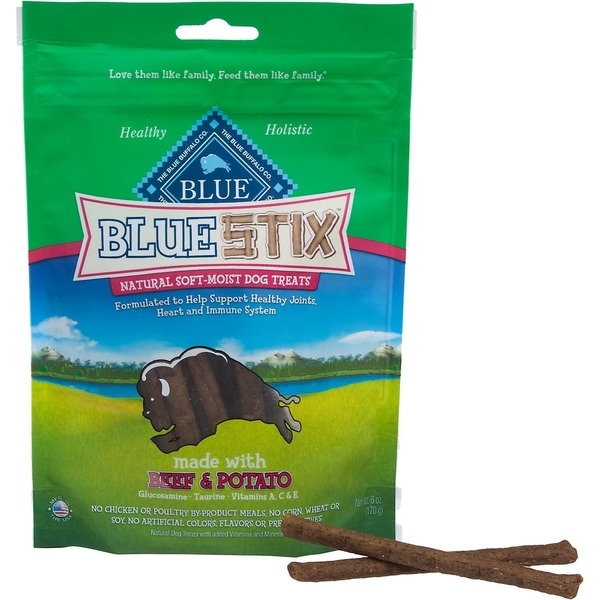 Blue Buffalo Blue Stix Natural Soft-Moist Dog Treat Made With Beef & Potato