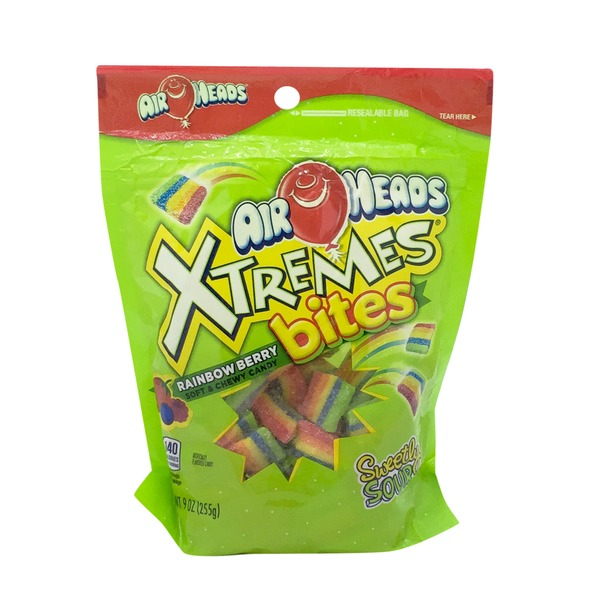 Airheads Xtremes Rainbow Berry Chewy Candy