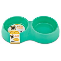 Bowlmates By Petco Small Mint Double Round Base