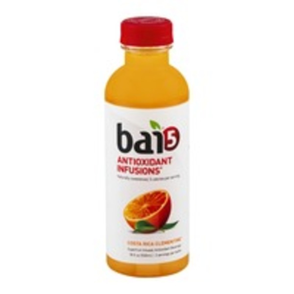 Bai 5 Antioxidant  Infusions Beverage Costa Rica Clementine